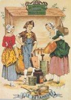 CPA     METIERS ANCIEN RETAMEUR   CARTE COLLECTION  P 1709 - Vendedores Ambulantes