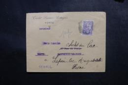 PORTUGAL - Enveloppe Commerciale De Porto Pour La France , Affranchissement Perforé - L 47667 - Covers & Documents
