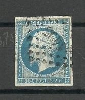 FRANCIA 1853 Mi:FR 14, Sn:FR 17, Yt:FR 15, Sg:FR 63 - 1852 Louis-Napoléon