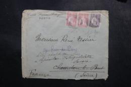 PORTUGAL - Enveloppe Commerciale De Porto Pour La France En 1923, Affranchissement Perforés - L 47669 - Covers & Documents