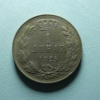 Yugoslavia 1 Dinar 1925 - Yugoslavia