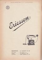 (pagine-pages)PUBBLICITA' ERICSSON    Le Vied'italia1928/02. - Boeken, Tijdschriften, Stripverhalen