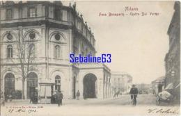 Milano - Foro Bonaparte - Teatro Dal Verme - 1903 - Milano (Milan)