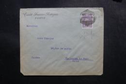 PORTUGAL - Enveloppe Commerciale De Porto Pour La France En 1923, Affranchissement Perforé - L 47672 - Covers & Documents