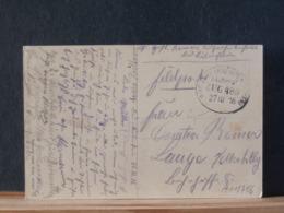 A11/756 CP ALLEMAGNE 1916  BAHNPOST - Briefe U. Dokumente