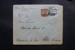 PORTUGAL - Enveloppe Commerciale De Porto Pour La France En 1923, Affranchissement Perforés - L 47674 - Covers & Documents