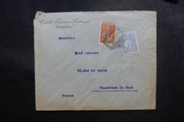 PORTUGAL - Enveloppe Commerciale De Porto Pour La France En 1923, Affranchissement Perforés - L 47675 - Covers & Documents