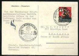 Bund 1953,   Unfallverhütung EF - Ohne Zuordnung