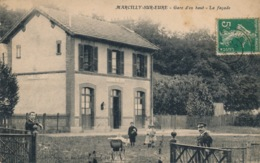 I176 - 27 - MARCILLY-SUR-EURE - Eure - Gare D'en Haut - La Façade - Marcilly-sur-Eure