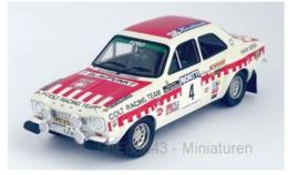 Ford Escort MKI RS 1600 - Colt - T. Makinen/H. Liddon - 1st 1000 Lakes Rally 1973 #4 - Troféu - Trofeu