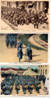 Aisne : Camp De Sissonne : Lot De 3 Cartes Anciennes - Sissonne