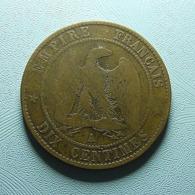 France 10 Centimes 1863 A - France