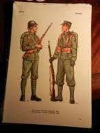 1) DIVISA MILITARE OLANDA CAPORALE FANTERIA - NORVEGIA FANTERIA - JUGOSLAVIA TENETE FANTERIA - BULGARIA MAGGIORE FANTERI - Uniforms