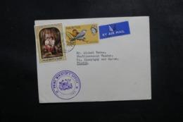 MAURICE - Enveloppe De Port Louis Pour La France Avec Cachet Du Ministère, Affranchissement Plaisant - L 47679 - Maurice (...-1967)