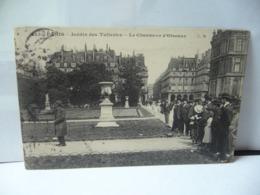 PARIS 75 PARIS ÎLE DE FRANCE JARDIN DES TUILERIES LE CHARMEUR D'OISEAUX  CPA 1907 - Parcs, Jardins