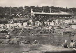 """Cartolina - Postcard /  Viaggiata - Sent / Bordighera,Ristorante """" La Reserve """". ( Gran Formato )  Anni 50° - Imperia"""