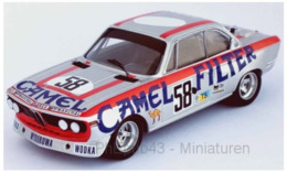 BMW 3.0 CSL - Camel -  W. Brun/C. Kocher/J.-P. Aeschlimann - 24h Le Mans 1973 #58 - Troféu - Trofeu