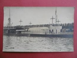 CARTE PHOTO MILITARIA  - Semble être Un SOUS - MARIN  ?   GUERRE 1914 - 1918 - Guerre 1914-18