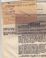 Plainte En Détention Arbitraire Faite En 1953 Par  F. W. Dohse Commandant La Section IV Du KDS  à Bordeaux, En 1942. - 1939-45