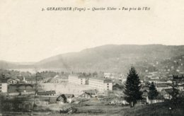 B61348 Cpa Gérardmer - Quartier Kleber - France