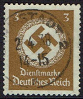 DR , 1934, Dienstmarken, MiNr 132, Gestempelt - Used Stamps