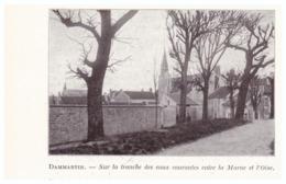 1924 - Iconographie - Dammartin-en-Goële (Seine-et-Marne) - Vue Générale - FRANCO DE PORT - Vieux Papiers