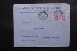 ITALIE - Enveloppe Commerciale De Venezia Pour La France En 1923, Affranchissement Perforés - L 47684 - 1900-44 Victor Emmanuel III
