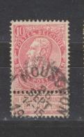 COB 58 Oblitération Centrale MOUSCRON - 1893-1900 Fine Barbe