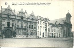 Mechelen - Sint-Pieter En Pauluskerk En Sint Rombaut's Kollege -r - Mechelen