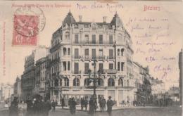 Hérault - BEZIERS - Maison Sicard Place De La République - Animée - Beziers