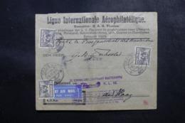 PAYS BAS - Enveloppe De Urk Par Avion En 1929, Cachets Et Affranchissement Plaisant à Voir - L 47691 - Periode 1891-1948 (Wilhelmina)
