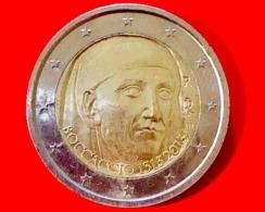 ITALIA - 2013 - Moneta - 700 Anni Della Nascita Di Giovanni Boccaccio - Euro - 2.00 - Italia