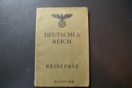 WW2 - REISEPASS -DEUTSCHES REICH - Documents