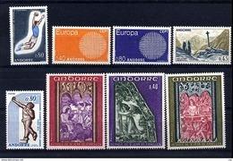 Andorre  -  Années Complètes  :  1970  ** - Années Complètes