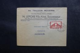 ALGÉRIE - Enveloppe Commerciale De Philippeville Pour La France En 1939, Affranchissement Plaisant - L 47696 - Lettres & Documents