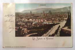 V 10917 Firenze - Un Saluto Da Firenze Nell'anno 1900 - Firenze (Florence)