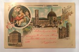 V 10918 - Firenze - Ricordo Di Firenze Nell'anno 1900 - Firenze (Florence)