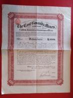 SOUTH AFRICA / THE EAST GWANDA MINES 1905 - Mines
