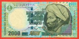 Kazakhstan 2000. Banknote 2000 Tenge. Very Good Condition. Rare!!!! - Kazakhstan