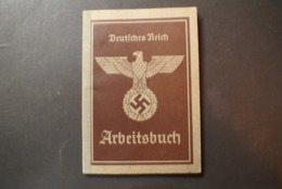 WW2 - ARBEITSBUCH - DEUTCHES REICH - Documents