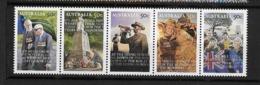 Australie N °2870 à 2874 ** Journée De L'Anzac (corps D'armée) - Otros