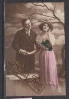 Carte Postale, 'félicitations' ; Gebruikt – Utilisée (1912) - Hochzeiten