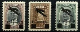Turquía A-9/11** Año 1941 En Nuevo. Cat.21€ - Airmail