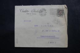 ITALIE - Enveloppe Commerciale De Milano Pour La France En 1923, Affranchissement Perforé - L 47710 - 1900-44 Victor Emmanuel III