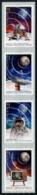 Australia 2019 Space 50th Ann. Of The Moon Landing Apollo 11 Coil SA Strip Of  4v MNH - Ozeanien