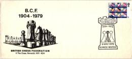 Chess Schach Echecs Ajedrez - Norwich. Great Britain 1979_75th Anniversary Of The British Chess Federation_CKM 7925 - Schach