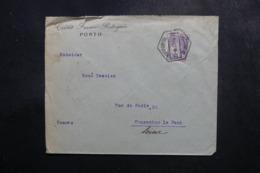 PORTUGAL - Enveloppe Commerciale De Porto Pour La France En 1923, Affranchissement Perforé - L 47713 - Covers & Documents