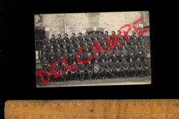 Photo Carte Photographie Militaire Armée Régiment Soldats Chasseur Alpin 7 BCA Chasseurs Alpins 1 Cie ALBERTVILLE Savoie - Guerre 1914-18