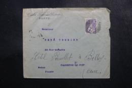 PORTUGAL - Enveloppe Commerciale De Porto Pour La France En 1923, Affranchissement Perforé - L 47714 - Covers & Documents