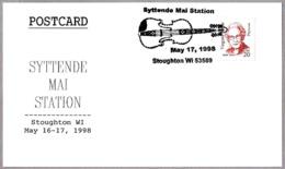 HARDINGFELE, Violin Folklorico Noruego. SYTTENDE MAI. Stoughton WI 1998 - Música